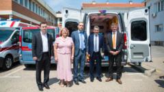 Novartis donates the equipment worth 250.000 Euros to the Health care center in Obrenovac