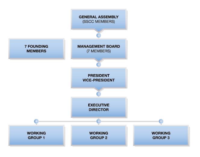 SSCC organizational structure