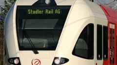 Stadler trains in Serbia as of September 2014