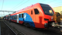 The first Stadler train arrives to Serbia