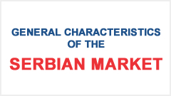 General characteristics of the Serbian Market
