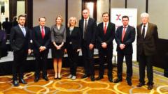 Ansgar Borneman iz kompanije Nestlé izabran je za predsednika, a Marinko Ukropina iz SGS-a za potpredsednika Švajcarsko-srpske trgovinske komore