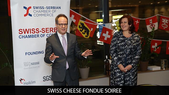 Swiss Cheese Fondue Event