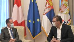 Oproštajna poseta ambasadora Švajcarske Konfederacije