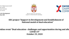 Dual education – challenges and opportunities