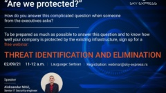 THREAT IDENTIFICATION AND ELIMINATION