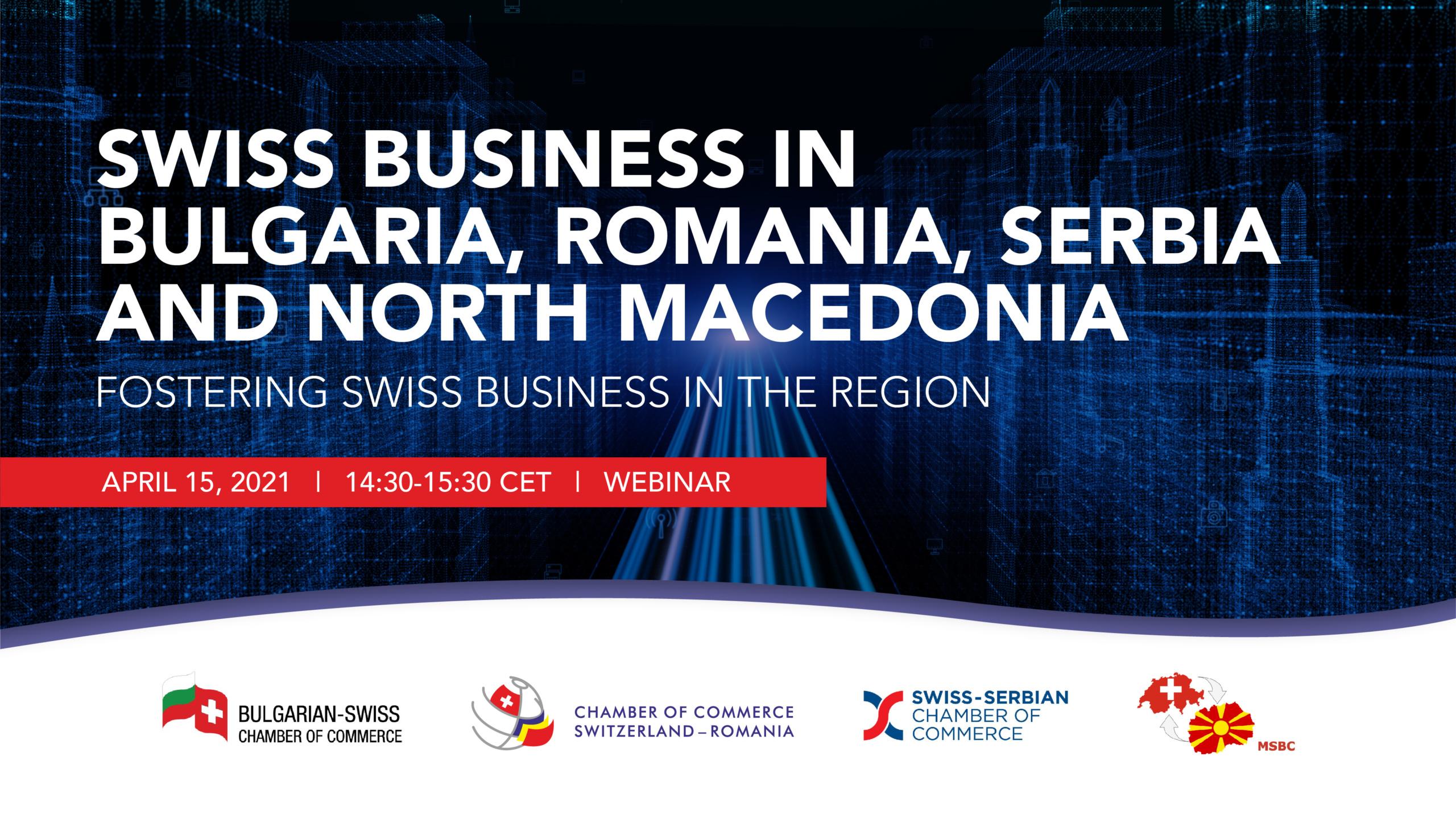 Swiss Business in Bulgaria, Romania, Serbia and North Macedonia