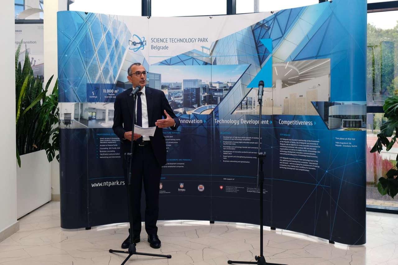 OFFICIAL OPENING OF THE CLEANTECH EXHIBITION