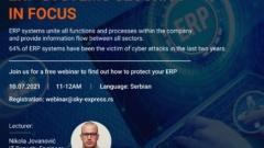 WEBINAR: ERP SYSTEMS SECURITY IN FOCUS