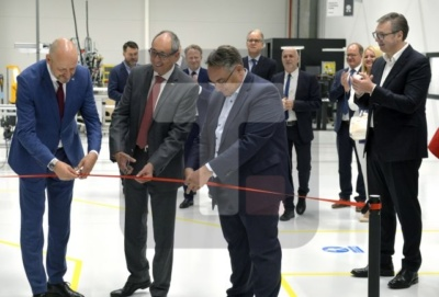 New Regent Lighting plant opens in Svilajnac